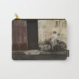 Bicycle Riding Joy Carry-All Pouch