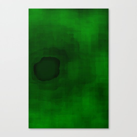 Green#3 Canvas Print