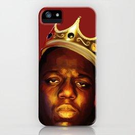 Biggie BIG Smalls iPhone Case