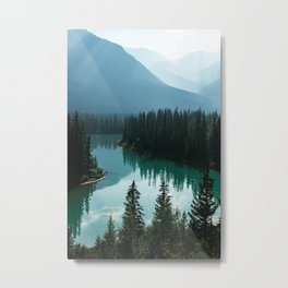 Beautiful Canada Mountains Metal Print