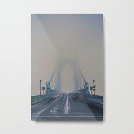 St. Johns Bridge Fog Metal Print