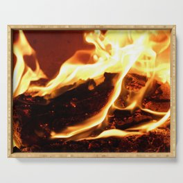 Feel the Heat Serving Tray