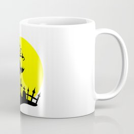 Creepy Hanging Bat Coffee Mug