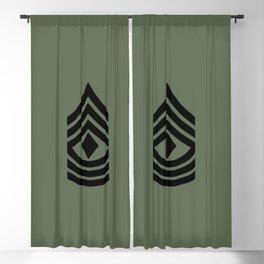1st Sergeant (Green) Blackout Curtain