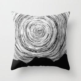 Mountain Lines Throw Pillow