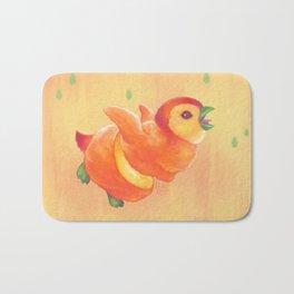 Sweeture: Peachguin Bath Mat