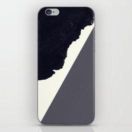 Contemporary Minimalistic Black and White Art iPhone Skin