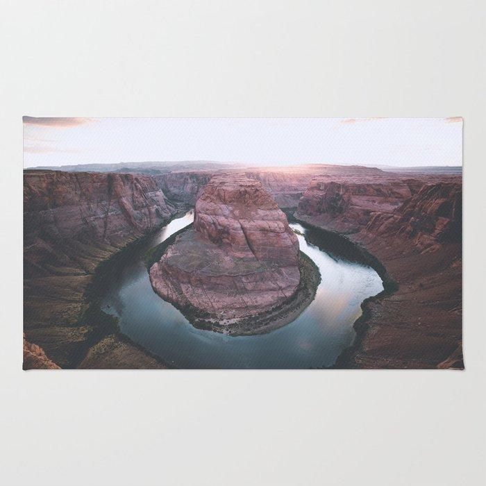 Canyon of dreams #landscape Rug