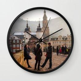 Casual Conversation Wall Clock