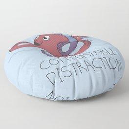Comfortable Distraction Floor Pillow