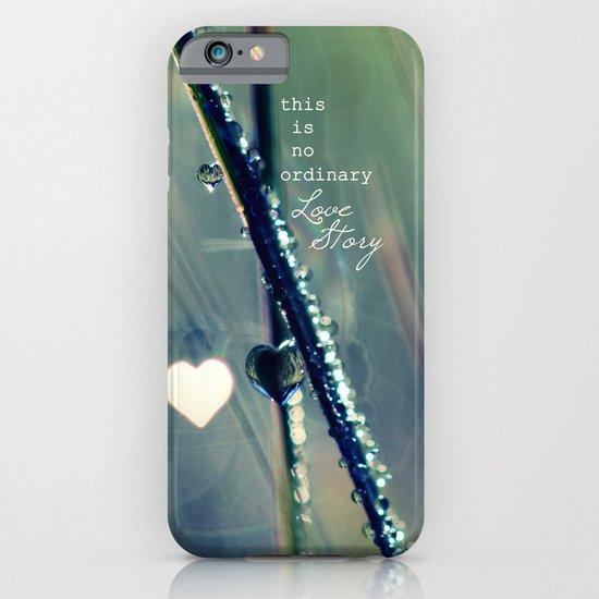 No Ordinary Love Story iPhone & iPod Case