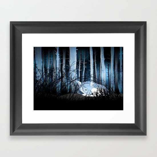 soft sleep Framed Art Print