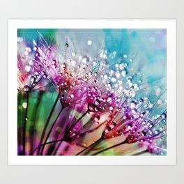 Dewdrops & Rainbows Art Print