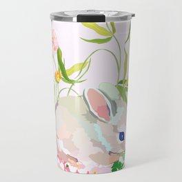 springtime bunny Travel Mug