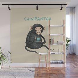 Chimpantea Wall Mural
