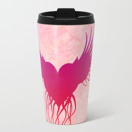 Give wings to my heart Travel Mug
