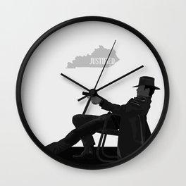 Justified - Gunslinger Wall Clock