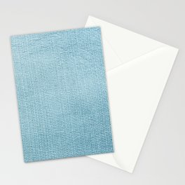 Blue Jean Texture  V2 Stationery Cards