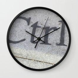 Ctrl Wall Clock
