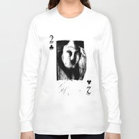 card Long Sleeve T-shirts featuring Card by Alvaro de Mendonca