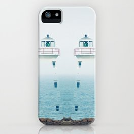 Lighthouse Twins iPhone Case