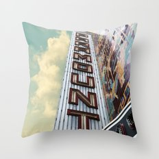 Paramount - Oakland, CA Throw Pillow