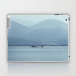 Fisherman on Inle Lake Laptop & iPad Skin