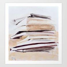 Delicate imbalance Art Print