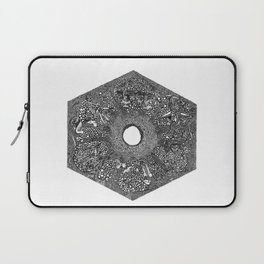 Souls of Lost Faces Laptop Sleeve