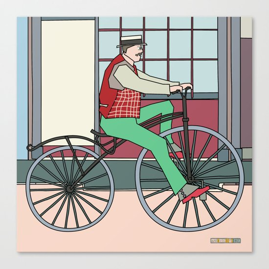Steampunk Mustache Canvas Print