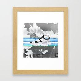 shoes on your sh*rt Framed Art Print