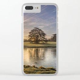 Leeds Castle Upper Lake Clear iPhone Case
