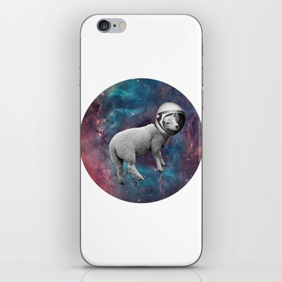 The Space Sheep 2.0 iPhone & iPod Skin