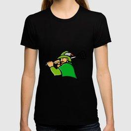 Archer Lacrosse Sport Mascot T-shirt