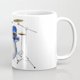 Blue Drum Kit Coffee Mug