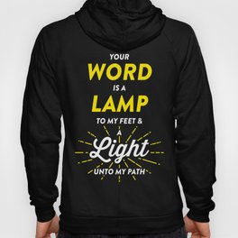 Lamp To My Feet Hoody