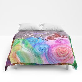Free Fall View Comforters