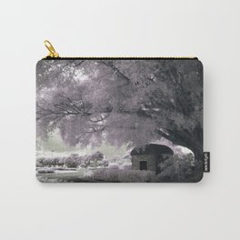 Infrared Pink Carry-All Pouch