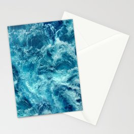 Ocean is shaking Stationery Cards