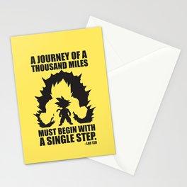 A Journey Of A Thousand Miles (Goku) Stationery Cards
