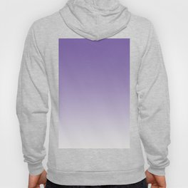 Lavender to White Hoody