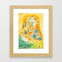 The Mlem Framed Art Print