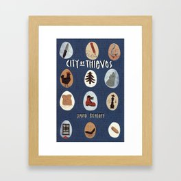 City of Thieves Framed Art Print