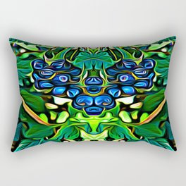 Lantana Berry Elementals Rectangular Pillow