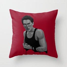 Bad Blood V Throw Pillow