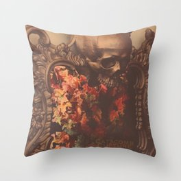 Catacomb Culture - August Mirror Throw Pillow