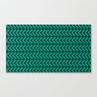 knitting Canvas Prints featuring Knitting by Diogo Coito