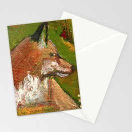 Heart of the Fox Stationery Cards