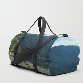 Lake Cresent Shore Duffle Bag