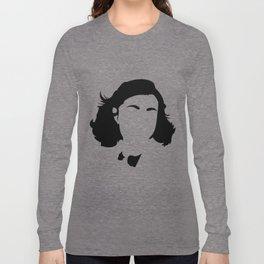 Faceless Anne Frank Long Sleeve T-shirt